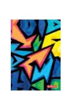 Brulion A6/96K kratka Neon Art (5szt)