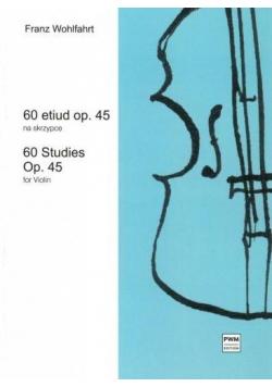 60 etiud op. 45 na skrzypce PWM