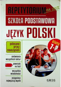 Repetytorium SP Język polski kl 7-8 GREG
