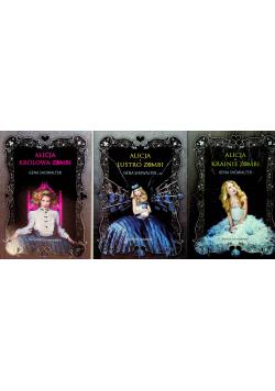 Pakiet: Alicja królowa Zombi / Alicja i lustro Zombi / Alicja w krainie Zombi