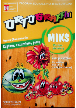Ortograffiti MIKS Poziom 1