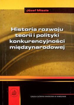 Historia rozwoju teorii i polityki konkurencyjności międzynarodowej
