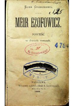 Mein Efozowicz 1886 r