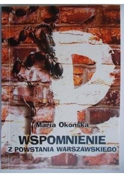 Wspomnienie z Powstania Warszawskiego