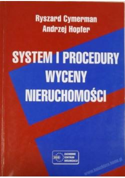 System i procedury wyceny nieruchomości