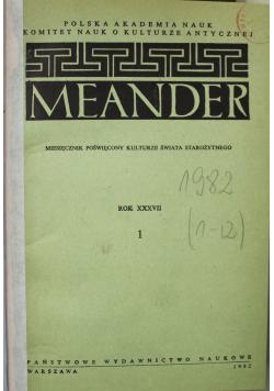 Miesięcznik Meander 12 numerów