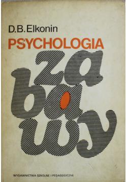 Psychologia zabawy Wydanie I