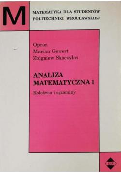 Analiza matematyczna 1 Kolokwia i egzaminy