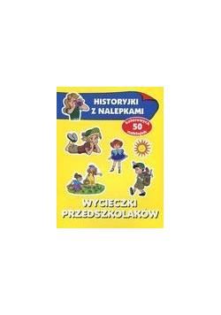 Historyjki z nalepkami - Wycieczki przedszkolaków