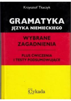 Gramatyka języka niemieckiego Wybrane zagadnienia