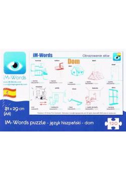iM-Words Puzzle 120 Hiszpański - Dom