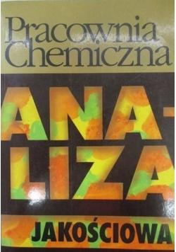 Pracownia chemiczna Analiza jakościowa