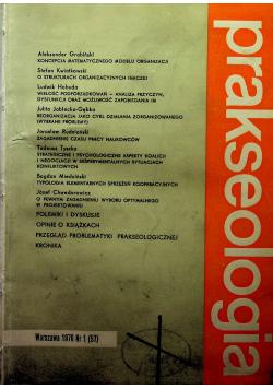 Prakseologia 4 numery