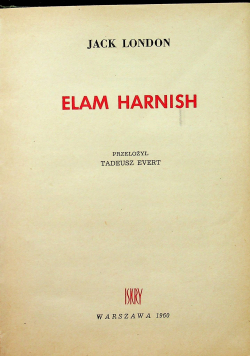 Elam Harnish