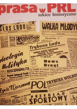 Prasa w PRL szkice historyczne