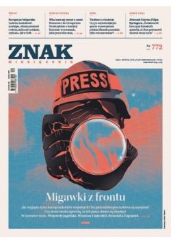 Miesięcznik Znak 772 9/2019 Migawki z frontu