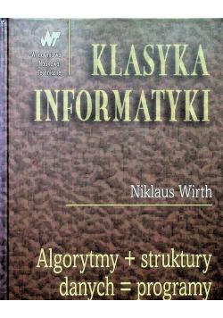 Algorytmy plus struktury danych równa się programy