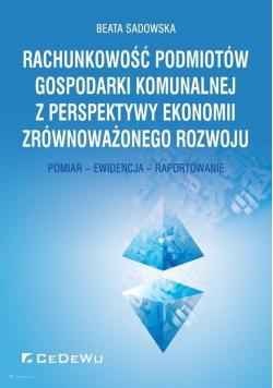 Rachunkowość podmiotów gospodarki komunalnej..