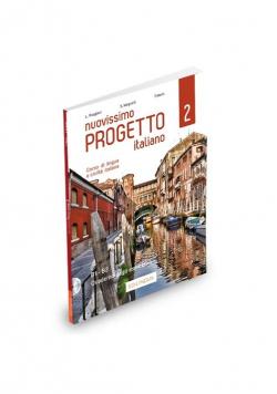 Nuovissimo Progetto italiano 2 Ćwiczenia + 2 CD