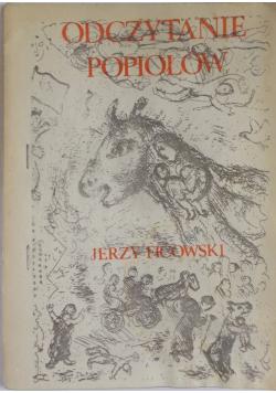 Odczytanie popiołów plus autograf Ficowskiego