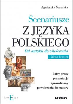 Scenariusze z języka polskiego. Od antyku do oświecenia