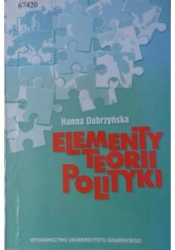 Elementy teorii polityki