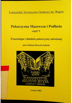 Polszczyzna Mazowsza i Podlasia część V