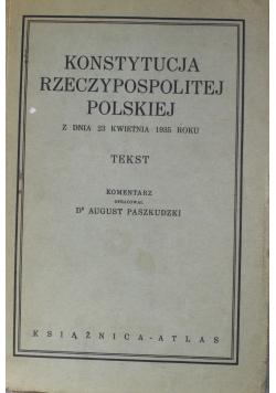 Konstytucja Rzeczypospolitej Polskiej 1935 r
