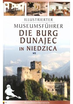 Przewodnik il. Zamek Dunajec w Niedzicy w.niem.