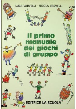 Il primo manuale dei giochi di gruppo