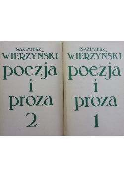 Poezja i proza Tom I i II