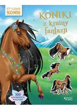 Koniki z krainy fantazji. 300 kolorowych naklejek