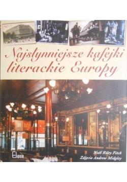 Najsłynniejsze kafejki literackie Europy