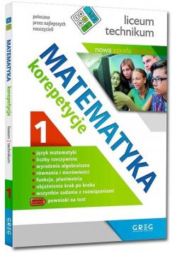 Matematyka - korepetycje, liceum cz.1