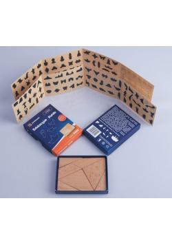 Puzzle drewniane - seria KOBE