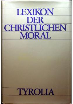 Lexikon der christlichen moral