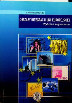 Obszary integracji unii europejskiej