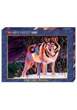 Puzzle 1000 Cenne zwierzęta, Wilk