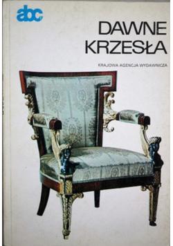 Dawne krzesła