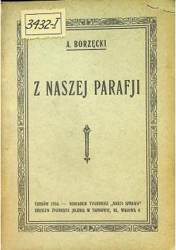 Z naszej parafji 1934 r
