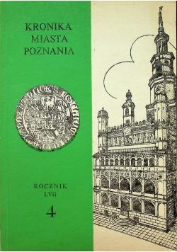 Kronika miasta Poznania Rocznik LVII Nr 4