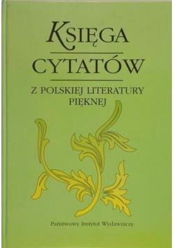 Księga cytatów z polskiej literatury pięknej