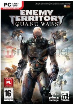 Enemy Territory płyta PC DVD