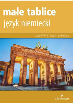 Małe tablice. Język niemiecki w. 2019 ADAMANTAN