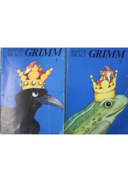 Baśnie Braci Grimm tom 1 i 2