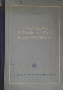 Przemysłowe badania maszyn elektrycznych