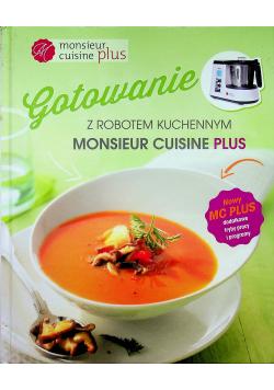 Gotowanie z robotem kuchennym MOnsieur Cuisine Plus