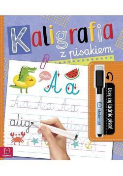 Kaligrafia z pisakiem Uczę się ładnie pisać