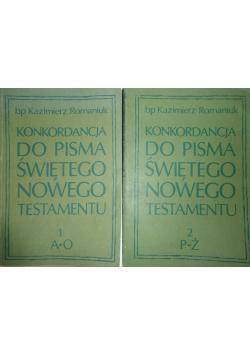 Konkordancja do Pisma Świętego Nowego Testamentu ,Tom I,II