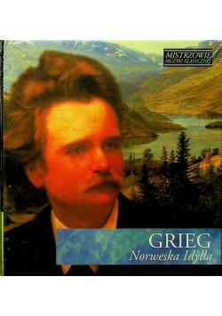 Mistrzowie muzyki klasycznej Grieg Norweska Idylla CD Nowa